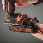 Дрель-шуруповерт ударная аккумуляторная BLACK+DECKER BDCHD18KB