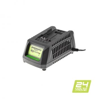 Универсальное зарядное устройство Greenworks G24UC без АКБ