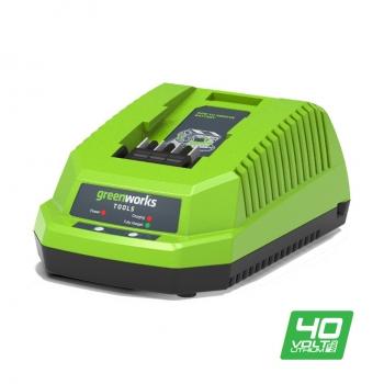 Универсальное зарядное устройство Greenworks G40UC без АКБ