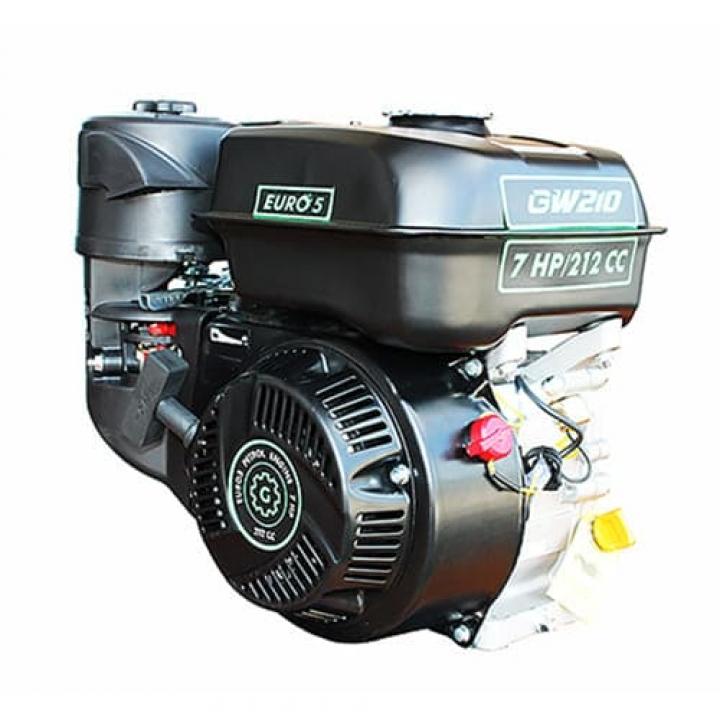 Бензиновый двигатель GrunWelt GW210F-S