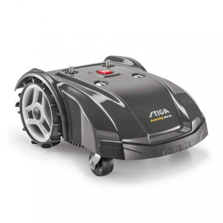 Газонокосилка - робот аккумуляторная бесщёточная STIGA Autoclip550SG