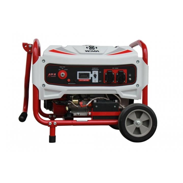 Бензиновый генератор WEIMA Deluxe WM5500E