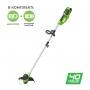 Триммер аккумуляторный Greenworks G40LTK2 с АКБ и ЗУ