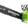 Цепная пила аккумуляторная Greenworks GD40CS40K2 c АКБ 2 Ah и ЗУ