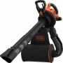 Садовый пылесос электрический BLACK+DECKER BEBLV300