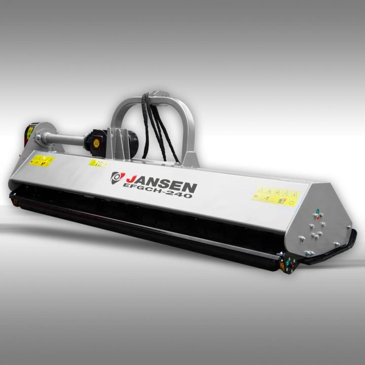 Мульчирователь с боковым сдвигом Jansen EFGCH-240 (Германия)