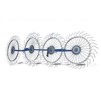 Грабли - ворошилки 4-х колесные AGROLUXE