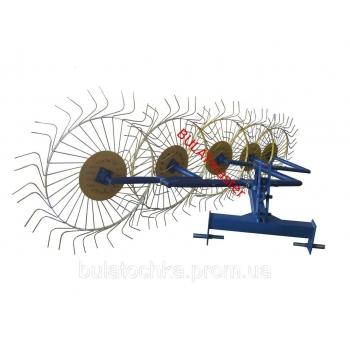 Грабли - ворошилки 5-ти колесные тракторные AMG