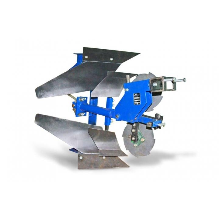 Плуг оборотный с предплужниками и подрезным диском ПО-1пд