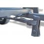 Тележка самосвальная ТГ-1.4 с дисковыми тормозами ступица универсальная (1400х1100х320 мм)