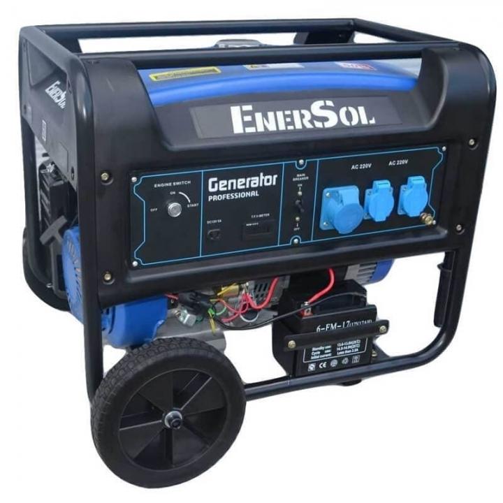 Генератор бензиновый EnerSol SG-8E-3B